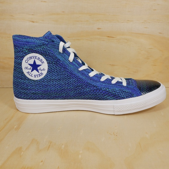New Chuck Taylor All Star Blue Flyknit